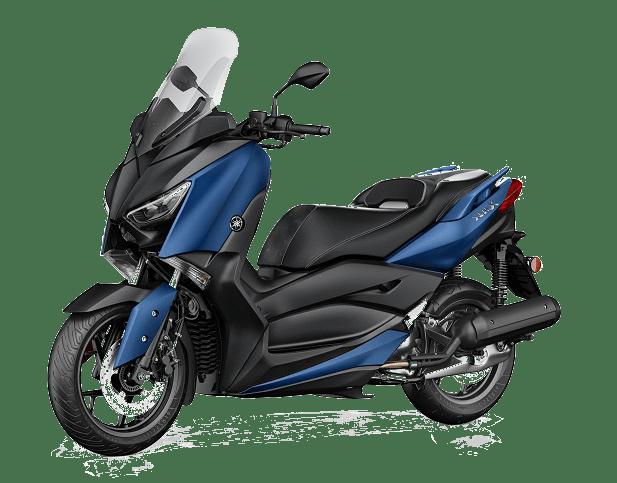 Scooter 125cc bleu et noir