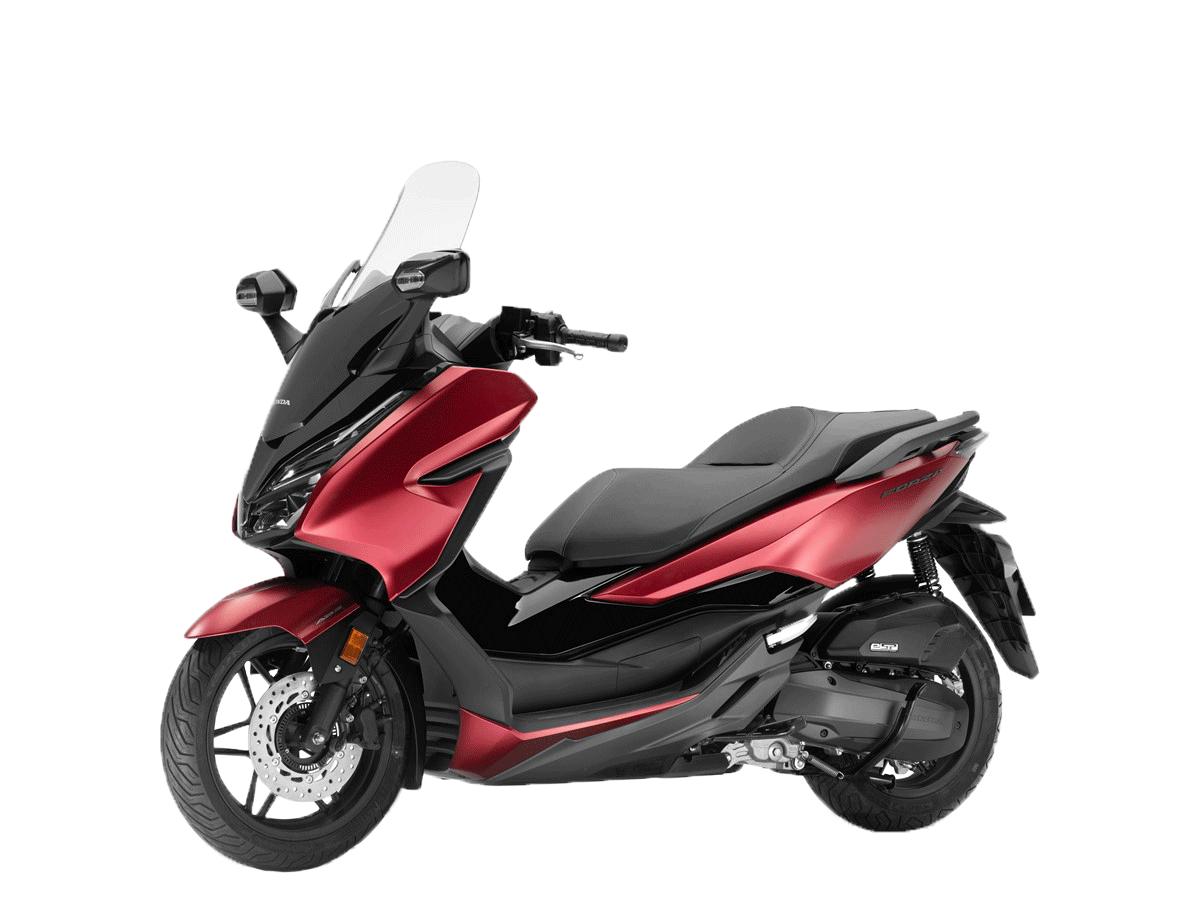 Scooter 125cc rouge et noir